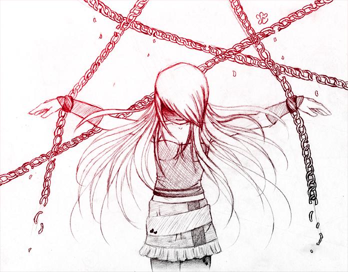 Broken Chains Sketch By Christians On DeviantArt
