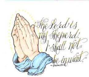Psalms 23:1