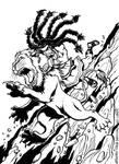 Samson Versus the Lion