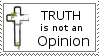 Truth vs. Opinion II by christians