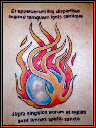 Flaming Latin by christians