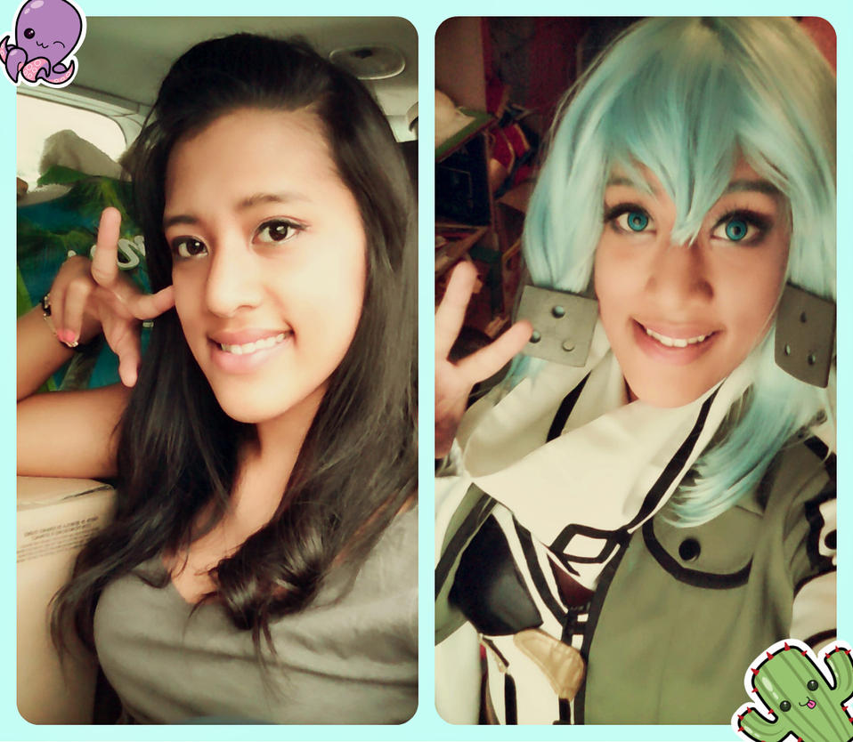 Make up test Sinon by DrossLoveYaoi
