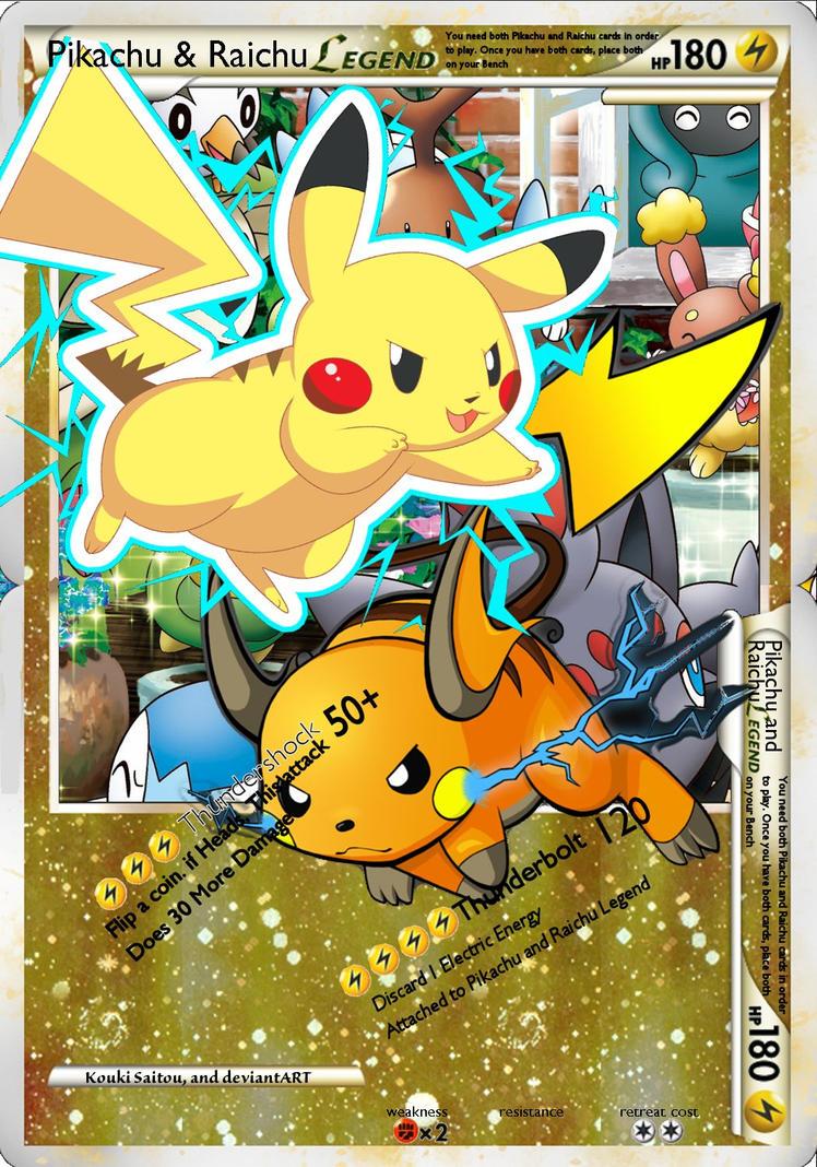 Original Pikachu Card Art