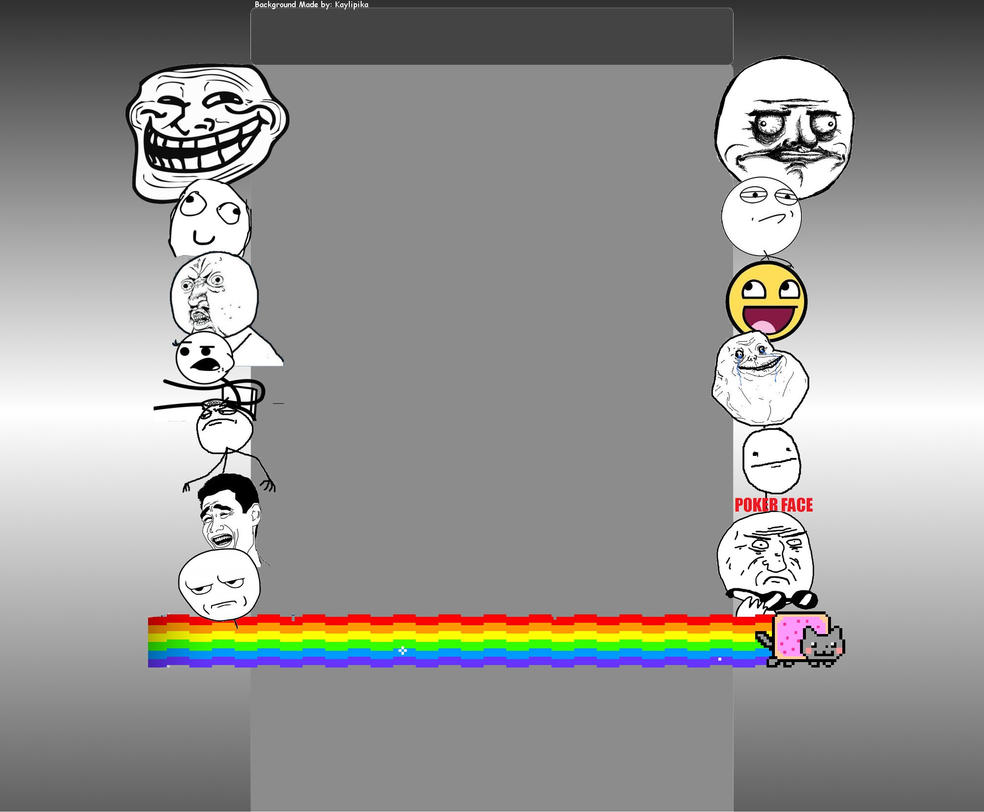 Troll face youtube background by pikachupokemon123 on deviantart troll face youtube background by pikachupokemon123 voltagebd Choice Image