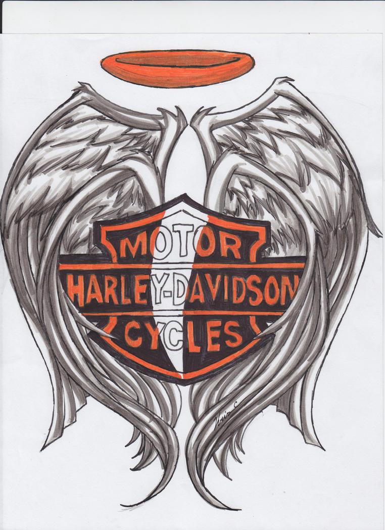 Harley davidson tattoo by flare9052 on deviantart for Free harley davidson tattoo designs