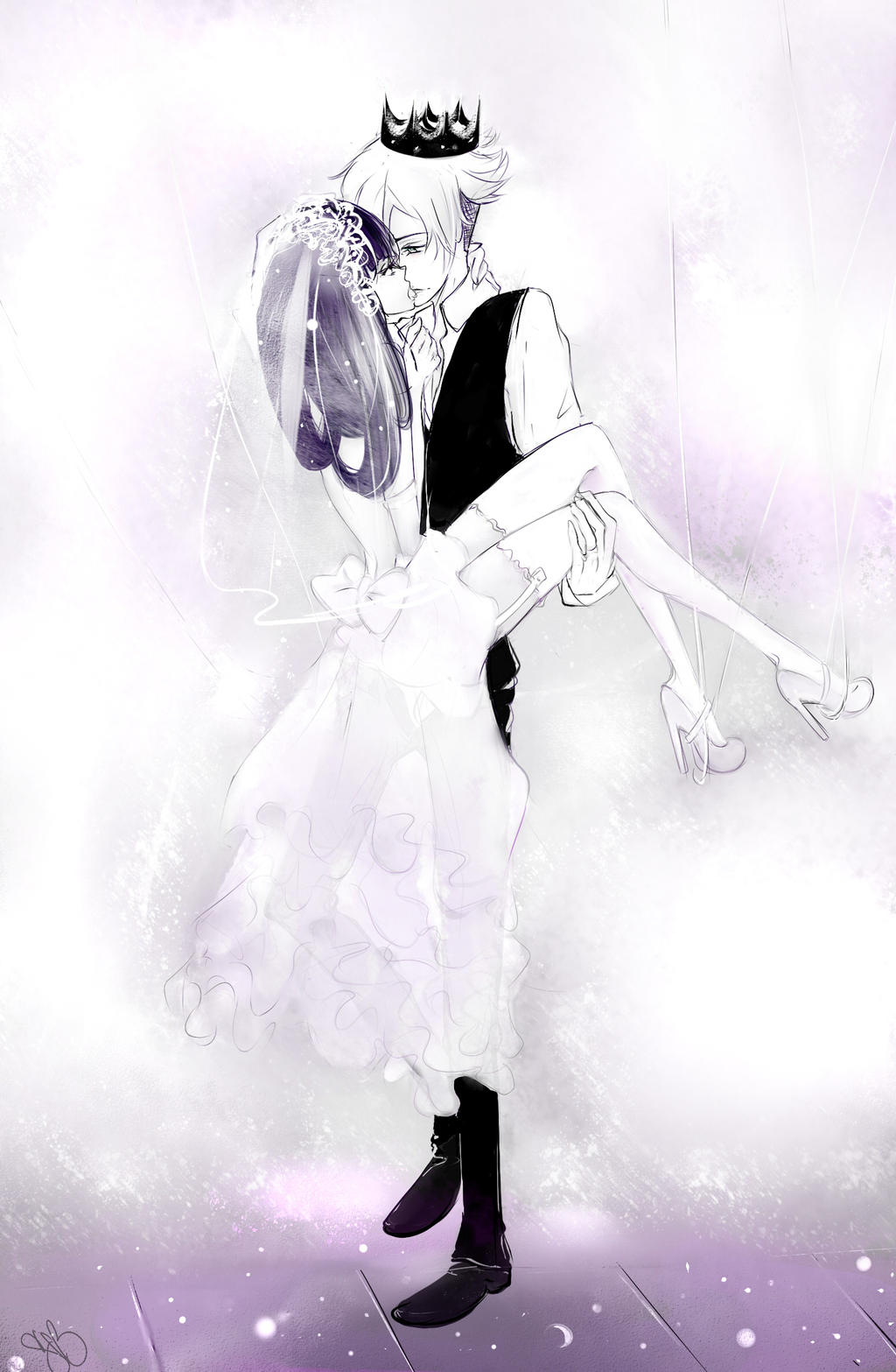 Queen Decim and his King Chiyuki by SnowAnaya on DeviantArt