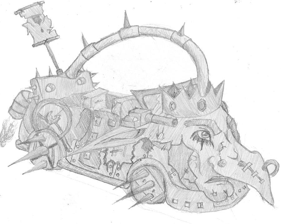 Badgob car by Loup-sauvage