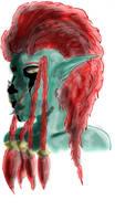Tribal Troll by Loup-sauvage