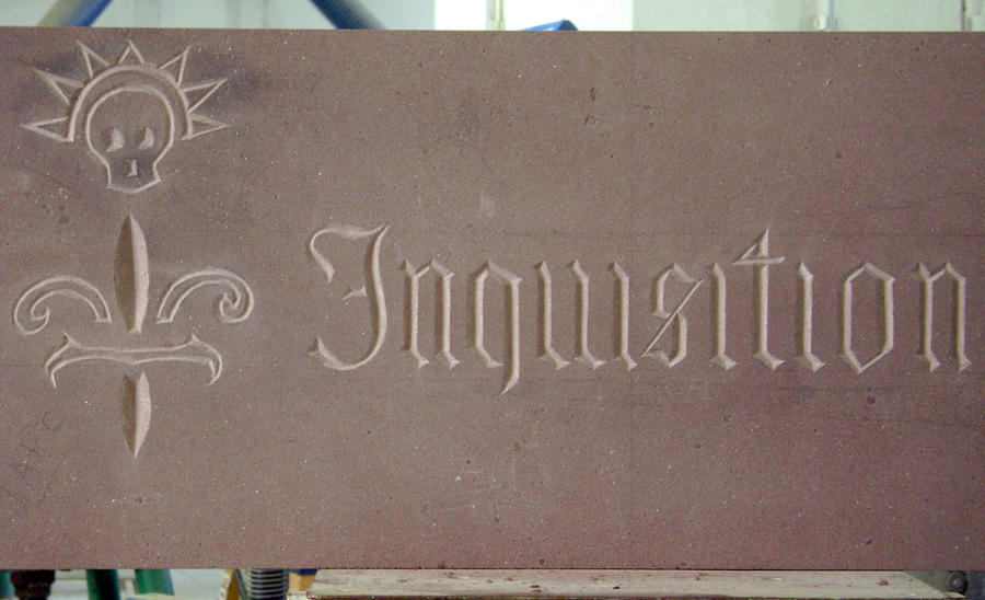 Engraving - Inquisition by Loup-sauvage