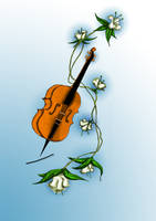 Viloncelle by Loup-sauvage