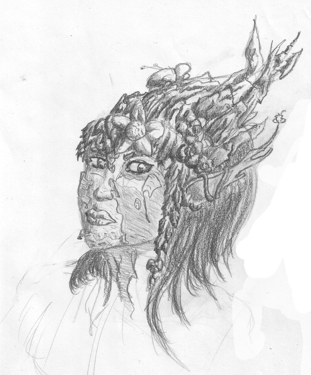 Spriggan Head by Loup-sauvage