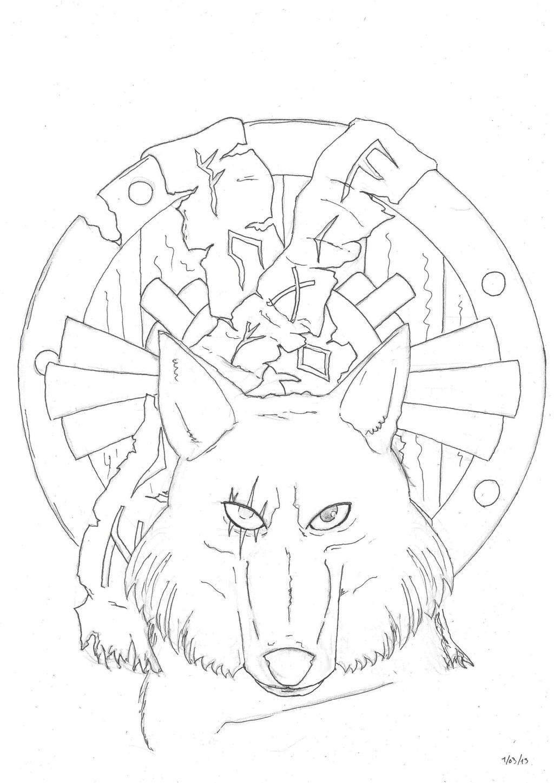 Wolf Emblem by Loup-sauvage