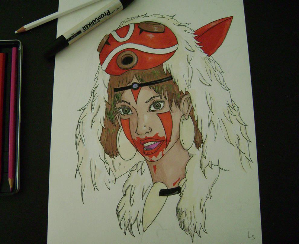 San - Mononoke by Loup-sauvage