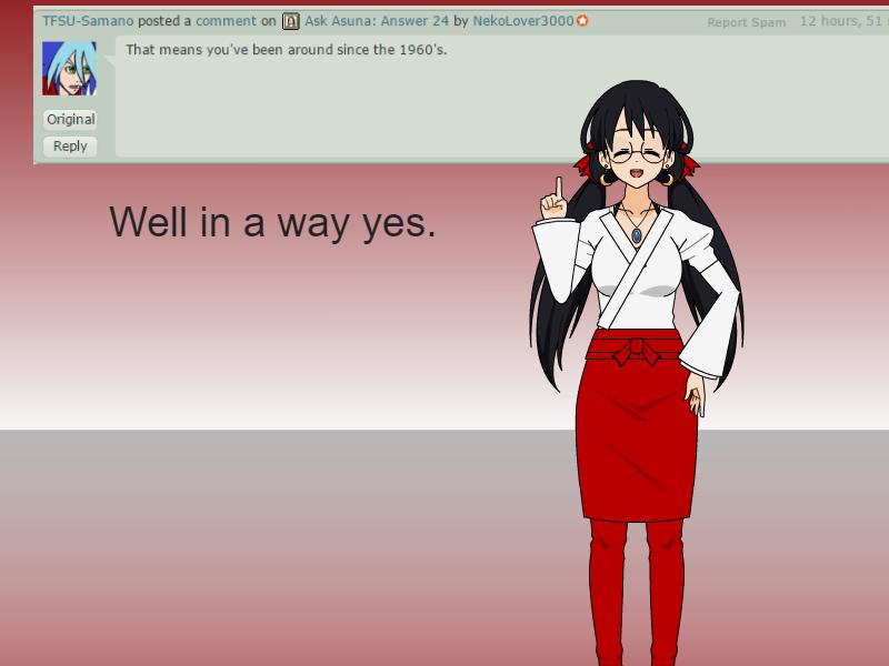 Ask Asuna: Answer 25 by NekoLover3000