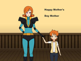 Happy Mother's Day with Misaki and Shinji by NekoLover3000