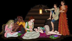 18th Century Girl's Night