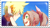 CloudxAerith Stamp by flowerangel050
