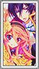 Mutsuki x Anis rectangle stamp 2 by flowerangel050