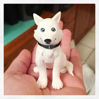 Siberian Husky Figurine