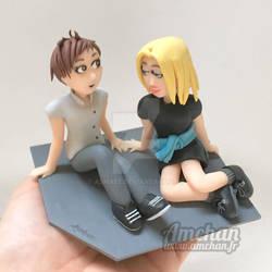 Cute Couple Figurines