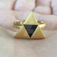Triforce Golden Ring