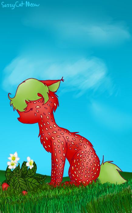 Strawberry by SassyCatMeow