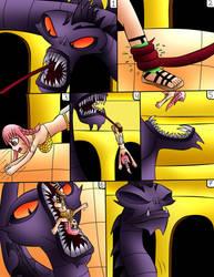 (commision) Rebecca Vs Hydra Page 7