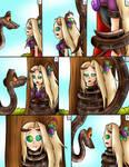 (Commision) kaa and viridi page 3