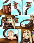 (Commision) kaa and viridi page 6