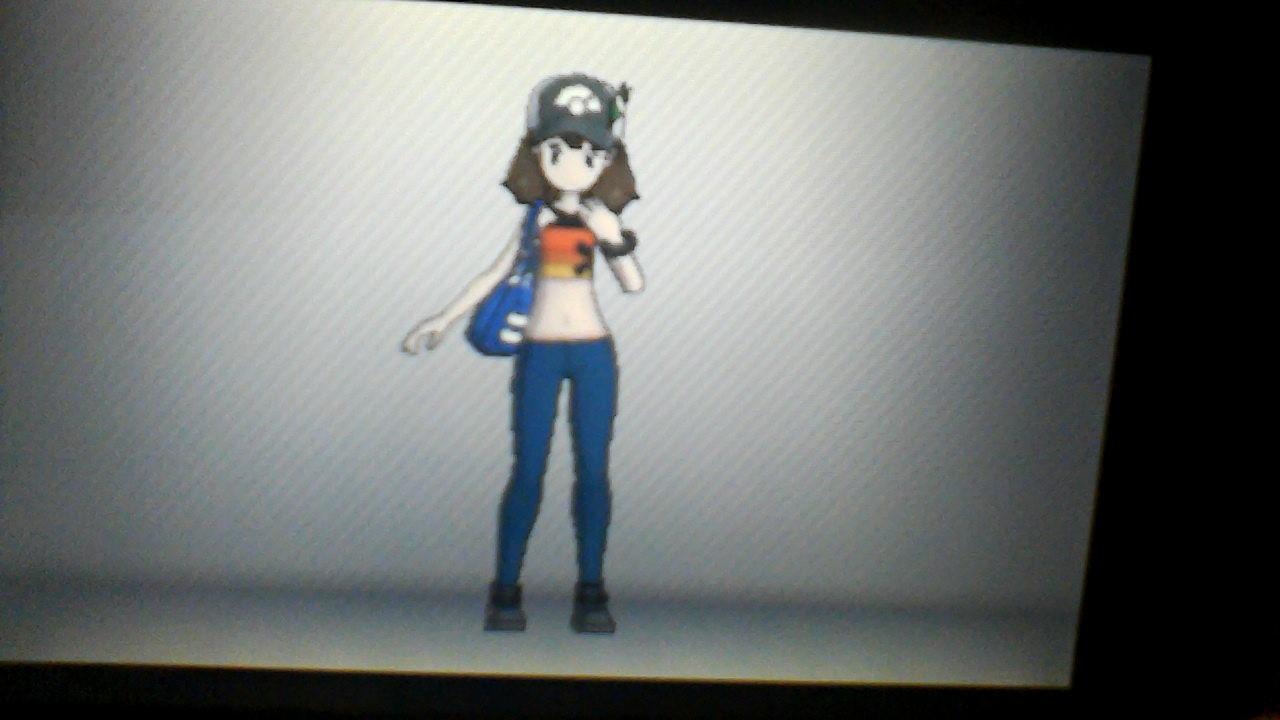 My pokemon x trainer look by BluethornWolf