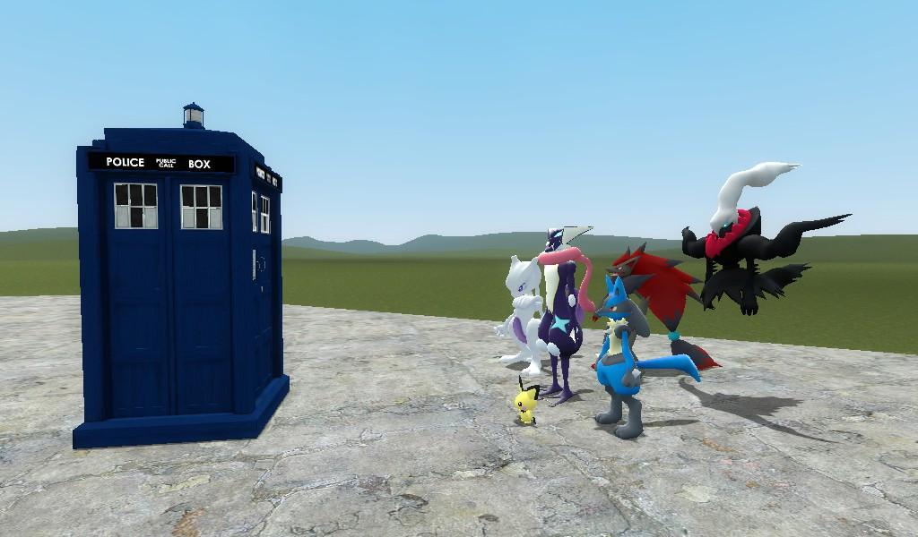 The tardis ride 2 by BluethornWolf