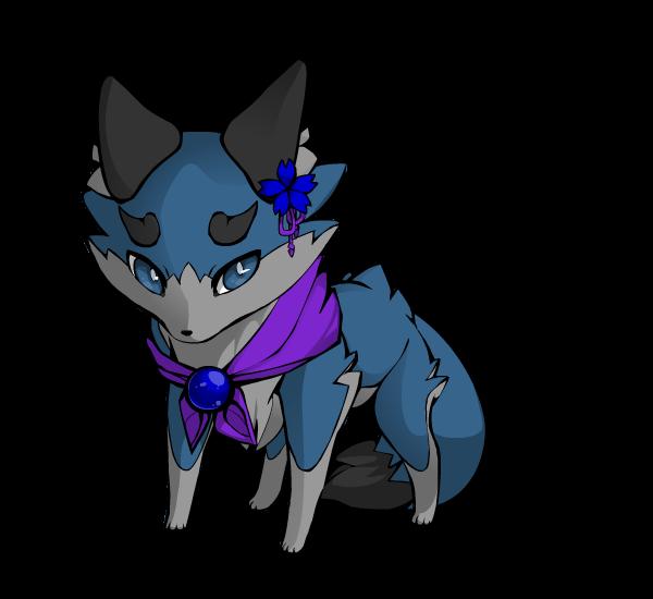 Dez as a cute fox by BluethornWolf