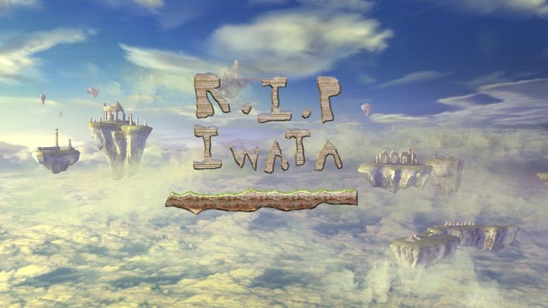R.I.P IWATA by BluethornWolf