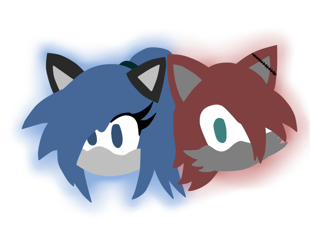 Dez And Sanity Logo By Thevivi (Da ID) by BluethornWolf