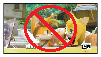 Anti TailsxZooey stamp by BluethornWolf