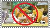 Anti TailsxZooey stamp by BluethornWolf