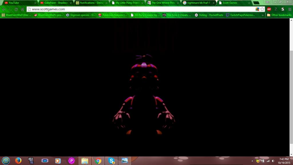 Nightmare Balloon Boy? by BluethornWolf