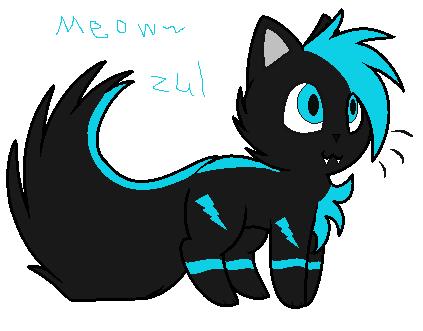 Zul kitten :random gift: by BluethornWolf