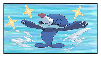 Popplio fan stamp by BluethornWolf