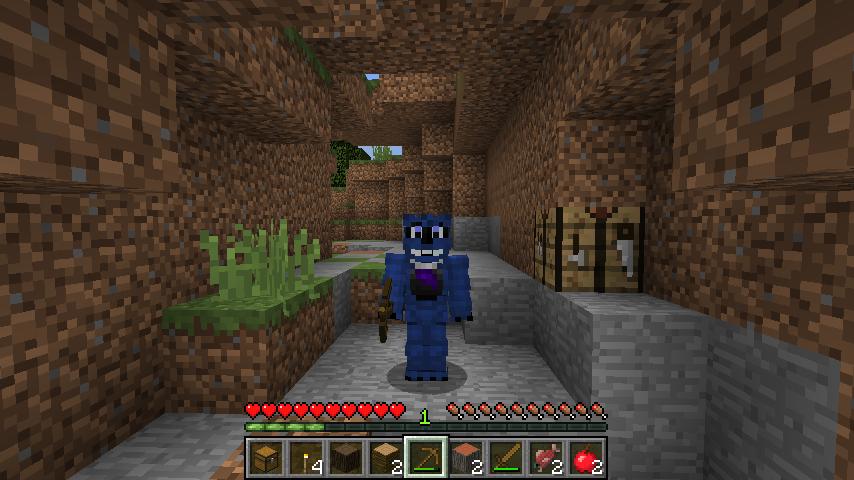 Damini is in minecraft by BluethornWolf