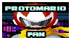 Protomario fan stamp by BluethornWolf