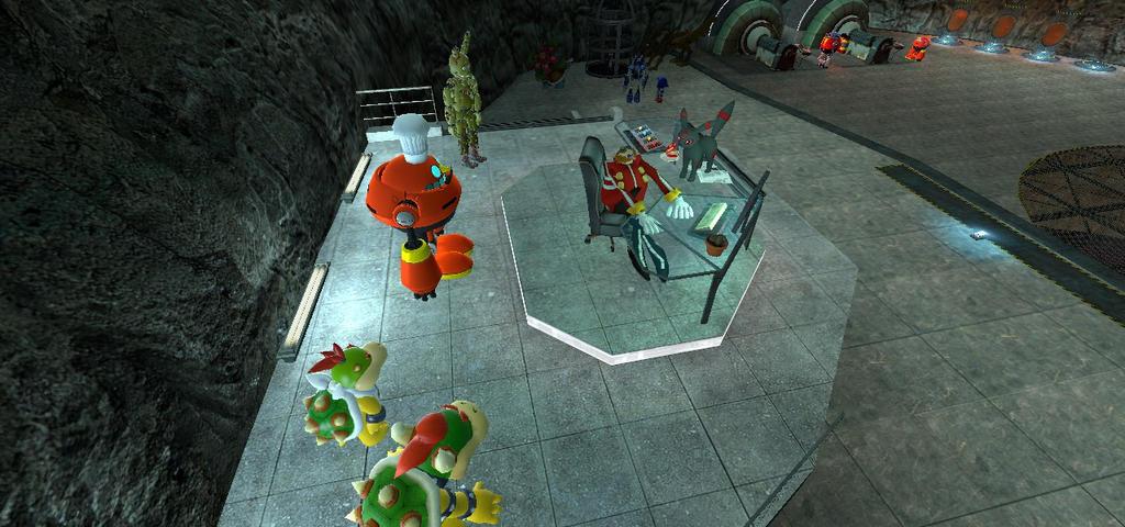 Eggman lair by BluethornWolf