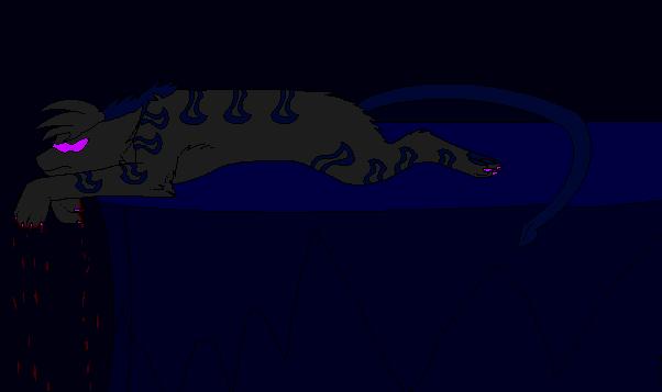Necro is bored by BluethornWolf
