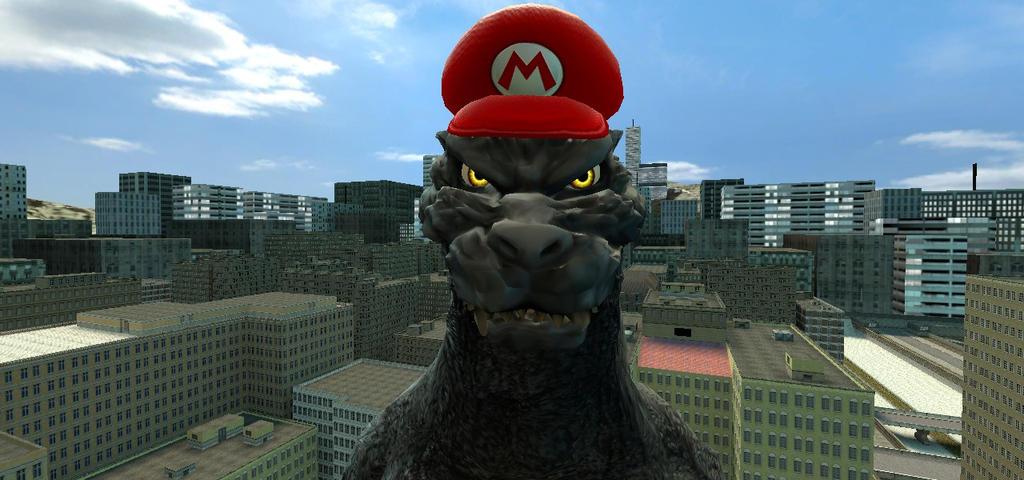 Godzilla is ready by BluethornWolf