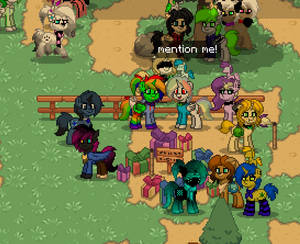 Pony town finding : White rainbow YT: