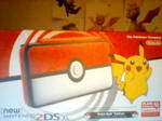 New 2DS Xl Pokeball Edition by BluethornWolf