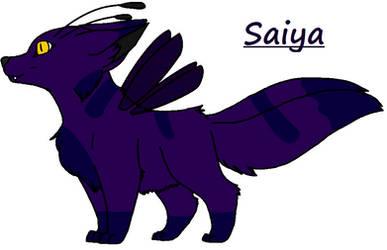 Saiya Ref by BluethornWolf