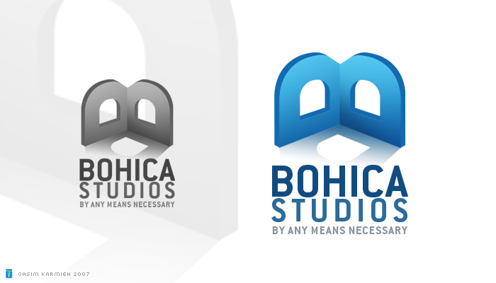 Bohica Studios by pixelbudah High Quality Clear & Concise Logo Designs: Taken From DeviantART