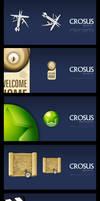 CROSUS browser icons