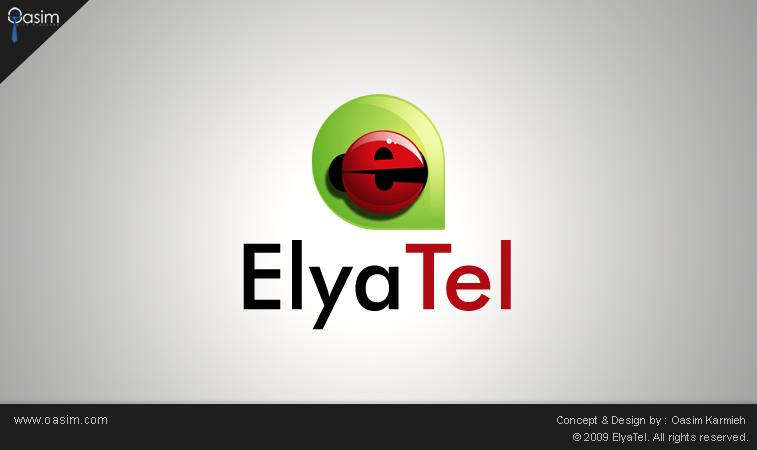 ElyaTel Logo by pixelbudah
